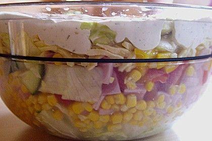 Schichtsalat klassisch (Rezept mit Bild) von Selan | Chefkoch.de