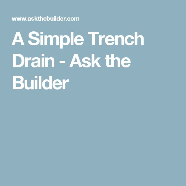 the 25 best trench drain ideas on pinterest trench
