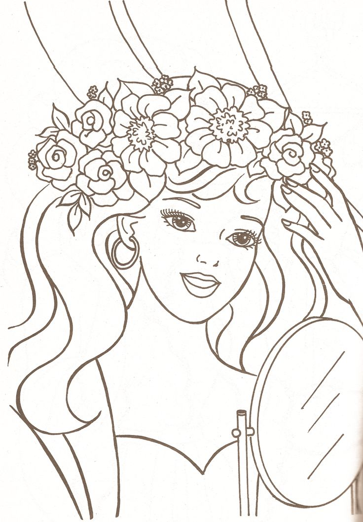 Barbie Swimsuit Coloring Pages : Best barbie coloring pages images on pinterest