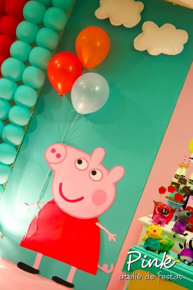 Peppa pig party cumpleaños Birthday