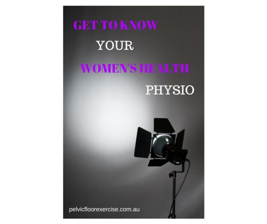 Get to Know Your Women's Health Physio