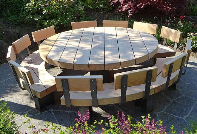 Rustic Outdoor Furniture Diy Garden, Rustic Outdoor Furniture