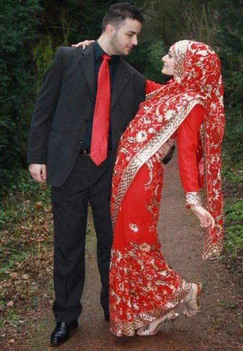 baju muslim sari india terbaru