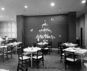 The Chintz Room, the most formal of Lazarus's restaurants, 5th floor, Columbus, OH store. The Department Store Museum: F. & R. Lazarus & Co.
