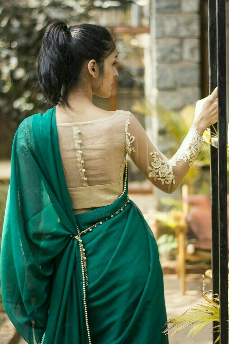 17 Best Ideas About Saree Jacket Designs On Pinterest | Saree Jackets Indian Blouse Designs And ...