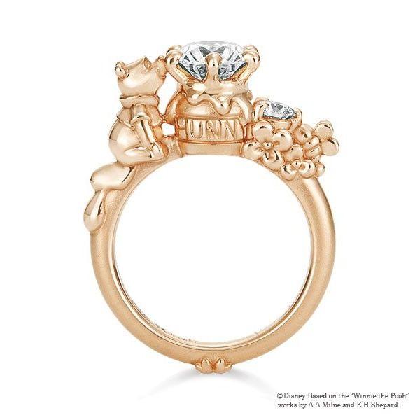 K Uno Princess Engagement Rings