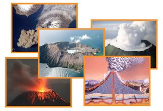 The Helpful Garden: Volcano Photo Cards Set For Early Learning