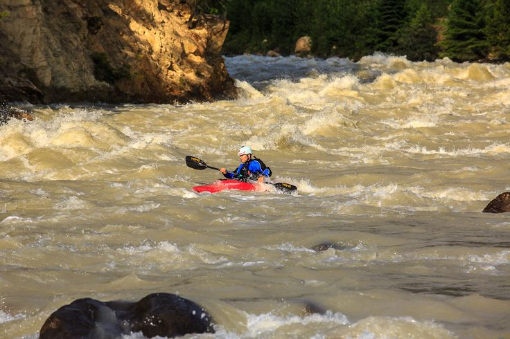 Rafting in Golden, BC. One of the many summer adventures in the summer.