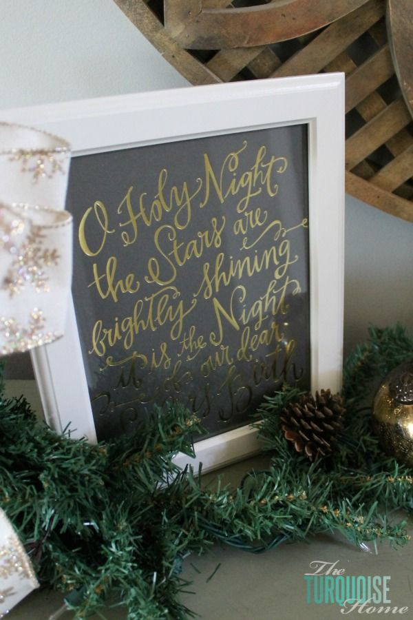 17 best ideas about lettering art on pinterest lettering for O holy night decorations