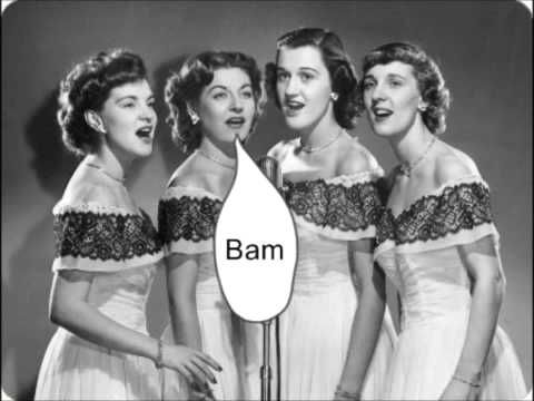 The Chordettes with Mr. Sandman (with Lyrics) from 1954...  Watch and Share if you like it ^^