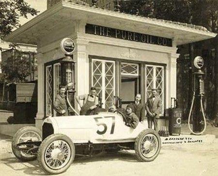 vintage gas station photos