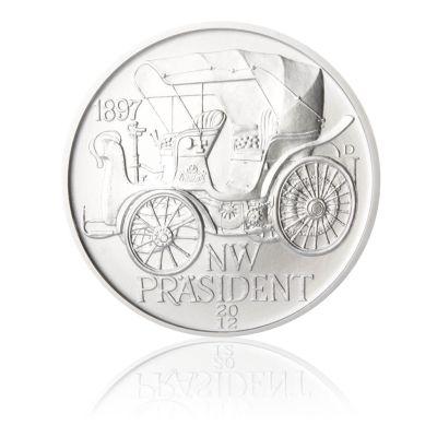Stříbrná medaile NW Präsident stand | Česká mincovna