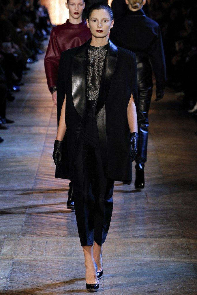 Saint Laurent Fall 2012 Ready to Wear Collection Photos   Vogue