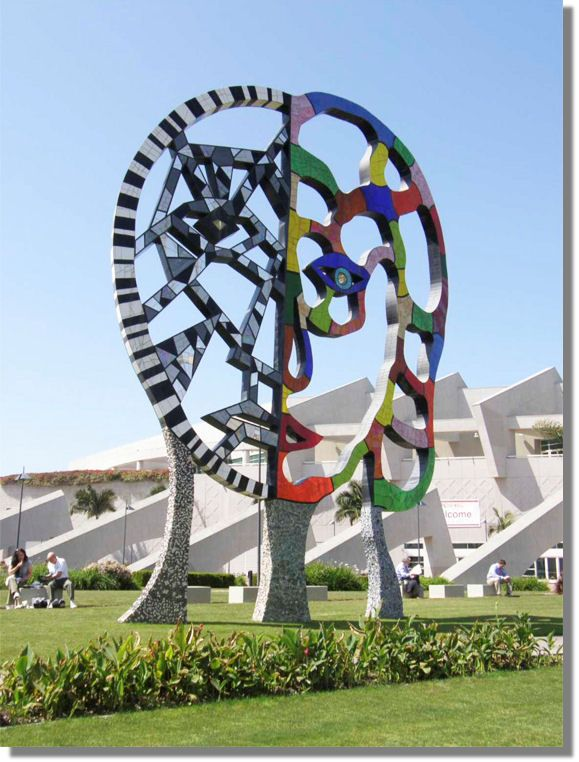 Niki de St Phalle Environment Art