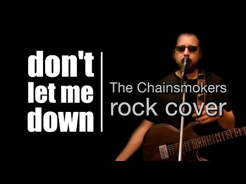 Oriol Bargalló: Don't let me down rock cover