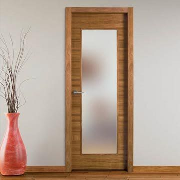 Stylish interior door. Sanrafael Lisa Glazed Fire Door - Model K28V Etimoe. #firedoors