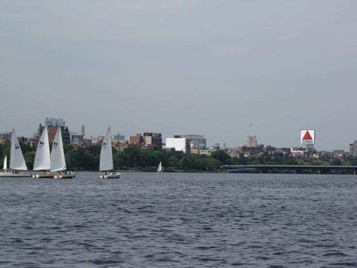 The Charles River, Boston, Ma