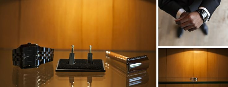 Awesome cricket-bat cufflinks for the groom