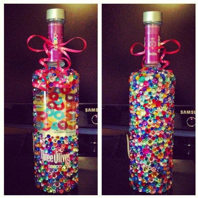 Decorated Alcohol Bottles For Birthday: 1000+ Images About 21st Birthday On Pinterest
