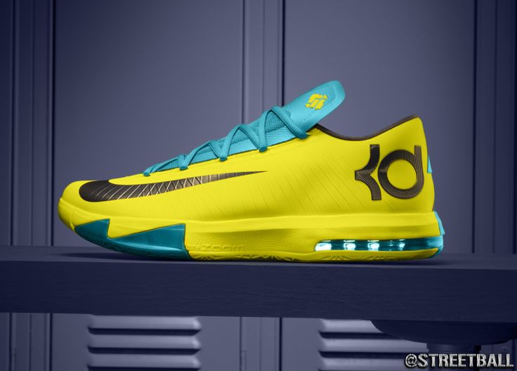 New Kevin Durant KD VI Sneaker Pics on @Streetball - http://streetball.com
