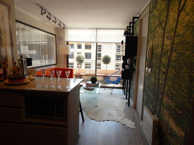 Living - cocina