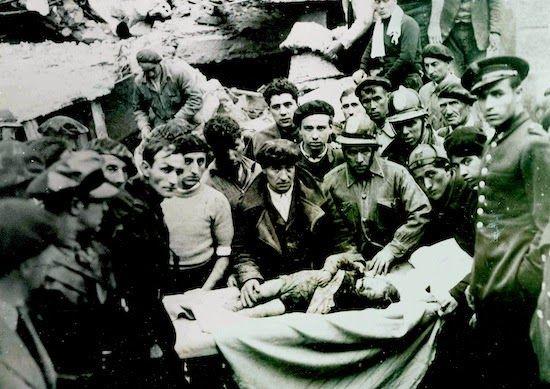 Bombardeo sobre Bilbao. 23 de abril de 1937