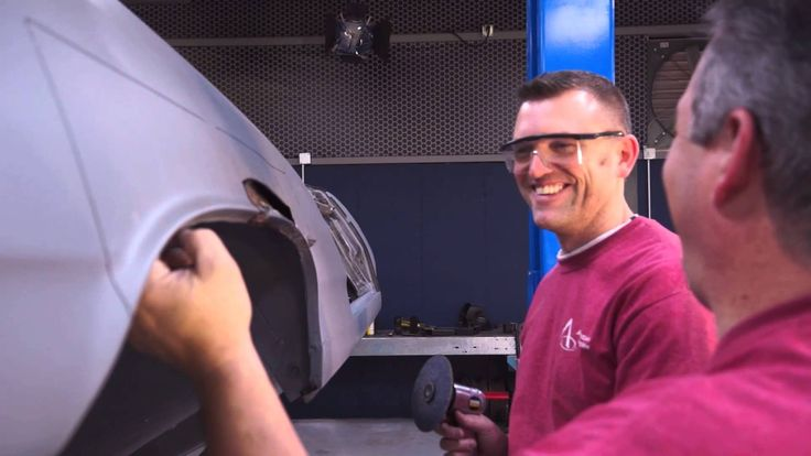 American Modern's The Build team is working on replacing the quarter panel on the 1965 Chevy Malibu. Enjoy! Be sure to follow along on Facebook too: http://facebook.com/americanmoderncollectorcar @American Modern Insurance Group