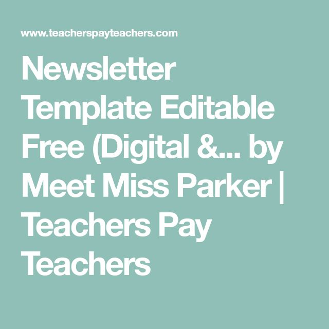 Best  Newsletter Templates Ideas On   Newsletter