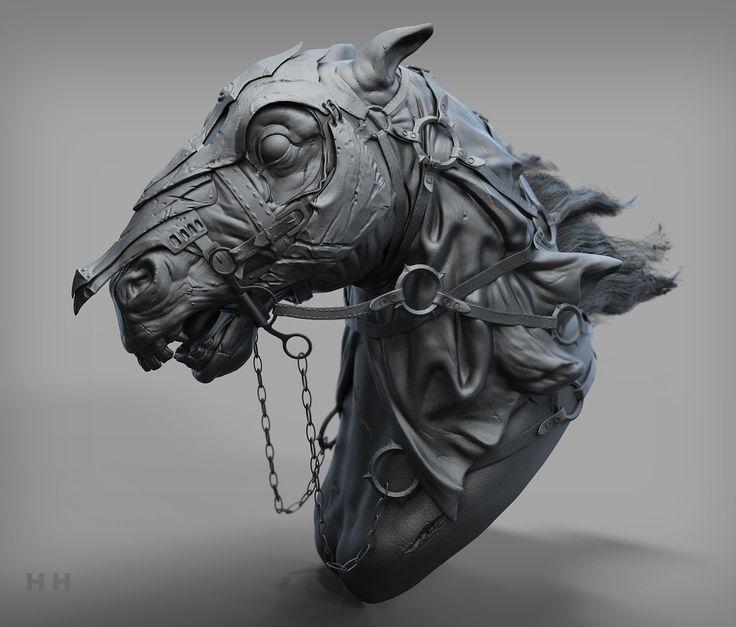 ArtStation - the nazgul horse, Han 419580826@qq.com