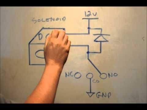Using Relays To Control Electromagnetic DC Solenoids - A Tutorial & Appl...