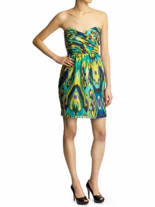 Shoshanna Balinese Ikat Dress.