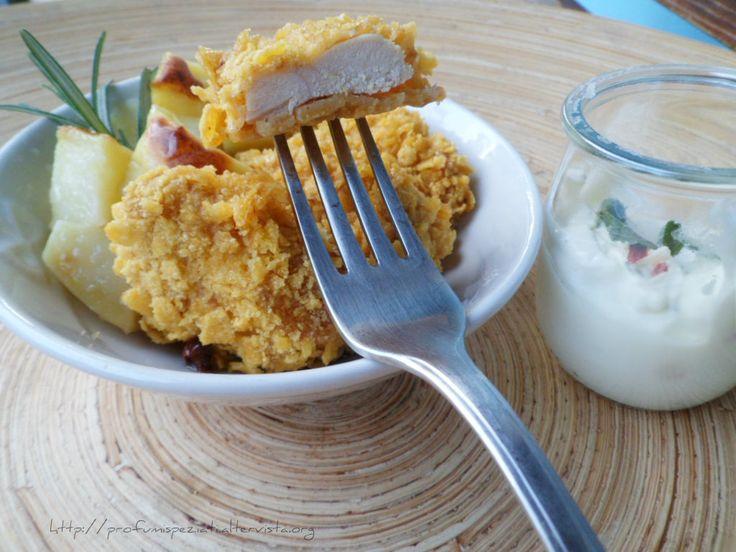 PROFUMISPEZIATI Pepite di pollo con corn-flakes alla birra