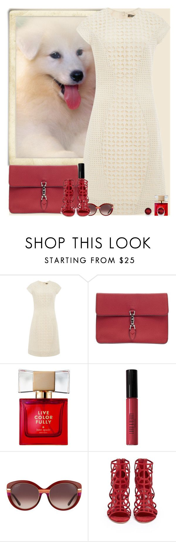 """""""Bez naslova #3023"""" by gita016 ❤ liked on Polyvore featuring Zac Posen, Gucci, Kate Spade, Lord & Berry, Salvatore Ferragamo, Sergio Rossi and Kevin Jewelers"""