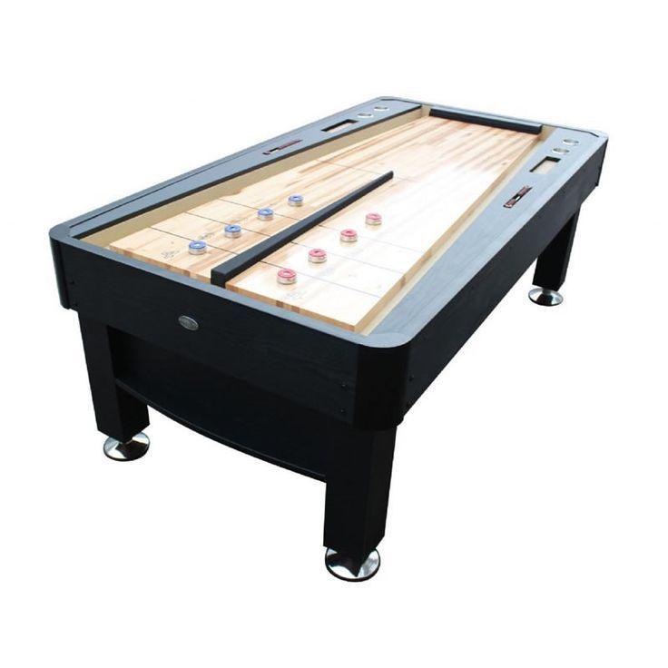Pin On Black Shuffleboard Tables