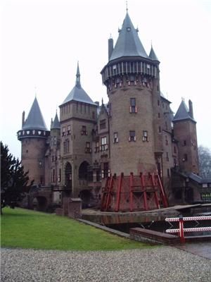 château de Haar, Pays-Bas