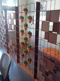 Image result for vertical garden, reinforced mesh, terracotta pots