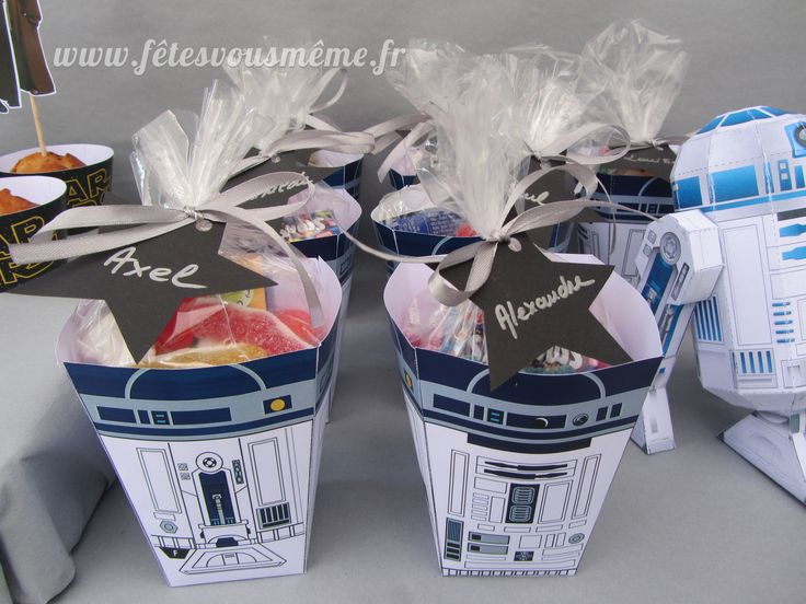 Boites bonbons R2D2