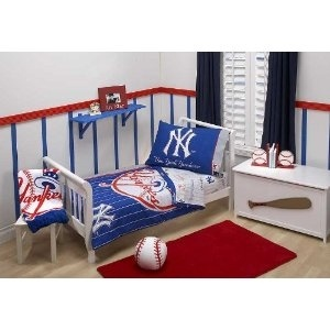 Wall Paint Major League Baseball New York Yankees Toddler Set
