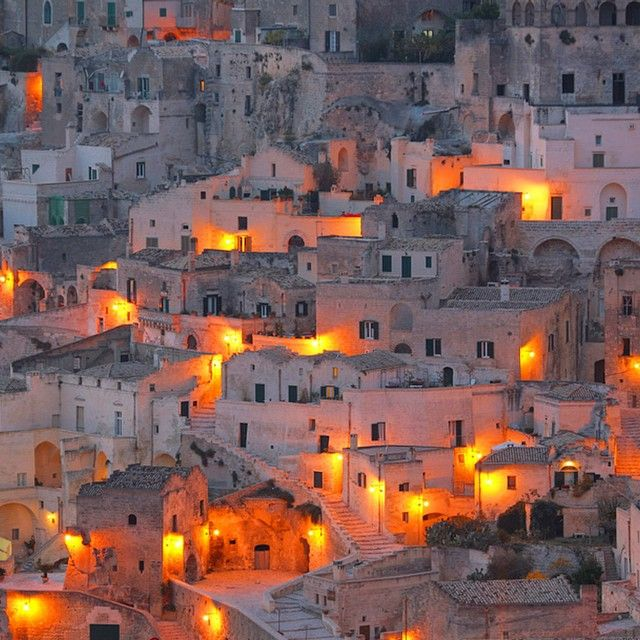 Tourists are taking their sweet time to get the message about this starkly beautiful, monochromatic town Matera, Italy. P