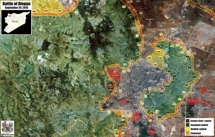MAP UPDATE: #SAA and Palestinian Liwaa Al-Quds captured #Handarat and #Kindi Hospital in northern #Aleppo. #Syria HD:imgur.com/a/TC54A