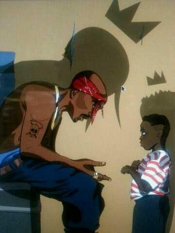 Tupac & Kendrick Lamar