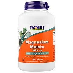 Magnesium malate -- Magnesium malate is a fantastic choice for people suffering from fatigue, since malic acid -- a natural fruit acid present in most cells in the body -- is a vital component of enzymes that play a key role in ATP synthesis and energy production. Since the ionic bonds of magnesium and malic acid are easily broken, magnesium malate is also highly soluble. use this code to get reduction SAM5233