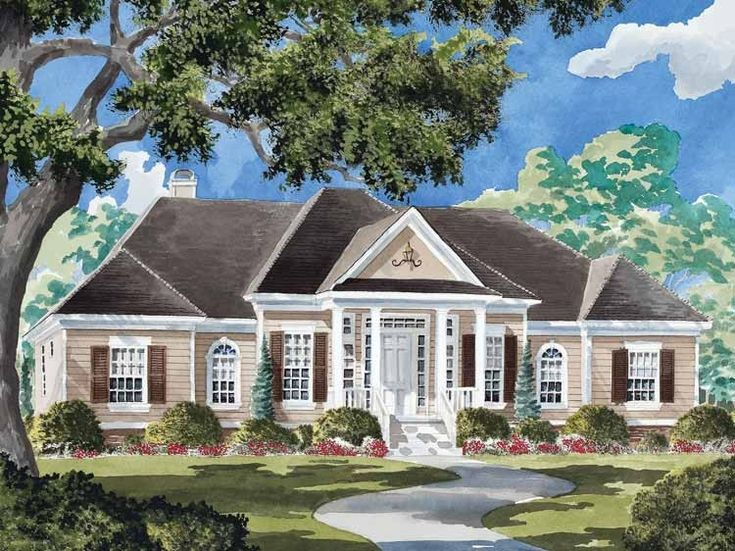 146 best house plans images on Pinterest Southern house plans