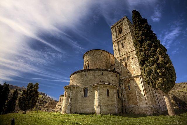 Abbazia di Sant'Antimo - Montalcino - Toscana - Tuscany - Italia - Italy