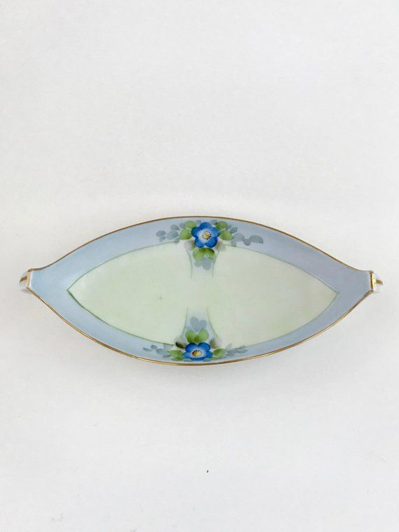 f670dde9af Meito China Celery Dish. Candy Bowl. Trinket Dish. Made in Japan ...