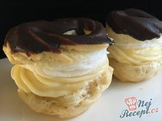Poctivé vanilkové věnečky z odpalovaného těsta