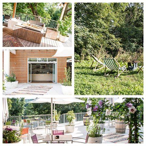 Verbinde den Spaziergang mit einem ausgiebigen Zwischenstopp in einem dieser wunderbaren Gastgärten im Grünen.