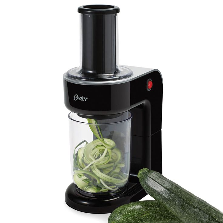 <p>With the Oster® Electric Spiralizer you can turn healthy vegetables into delicious spirals in seconds</p>
