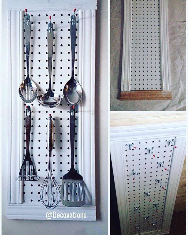 Die besten 25+ Kitchen utensil racks Ideen auf Pinterest - tür für küchenschrank