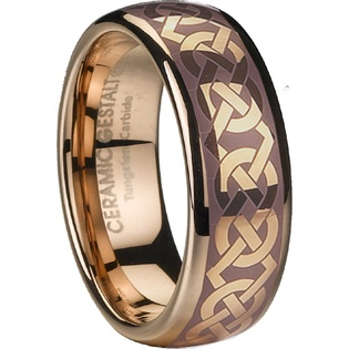 Tungsten Ogham Rings